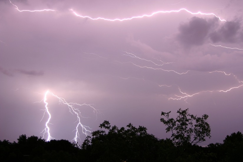 A Thunderstorm in Mentone – a Poem for myFather